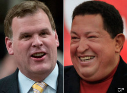 Foreign Affairs Minister John Baird's trip to Venezuela this week was postponed after the Hugo Chavez government found it to be too delicate a moment to host some — but not all — foreign visitors. (CP)