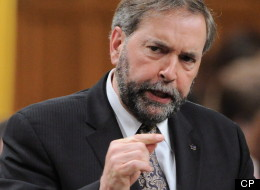 NDP Leader Tom Mulcair says the federal government's crackdown on employment insurance claimants is a political game that creates a presumption of guilt. (CP)
