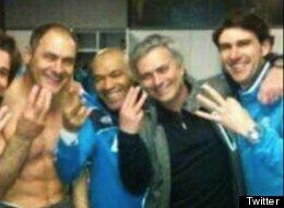 José Mourinho, técnico del Real Madrid