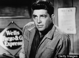 Actor Dale Robertson, who starred in the popular TV western