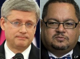 Prime Minister Stephen Harper downplayed concerns Thursday over an arrest warrant for Arthur Porter, the former head of the committee that oversees Canada's spy agency. (CP)