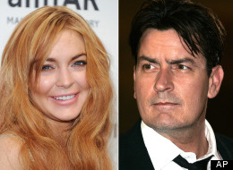 Charlie Sheen wants to be Lindsay Lohan's mentor.