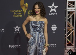 Who dressed the best at the inaugural Canadian Screen Awards? Kristin Kreuk's look is one of our picks. (CP Photo, Chris Young)