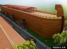The 500-foot Hidden Ark is under construction in Hialeah, Florida.