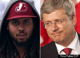 A Halifax rapper frustrated by what he sees as a lack of honesty from the federal government has called out the man at the top: Stephen Harper.