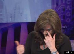 WGN Morning News' Robin Baumgarten reacts to the phrase