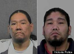 Dustin Ilar and Daniel Mota, fugitives from California, may be on their way back to the U.S. after being caught in Esquimalt. (Victoria Police)