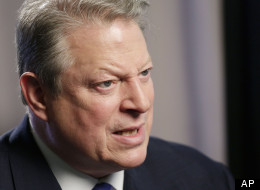 Al Gore attacks the NRA and 'stalker economy,' dissembles on TV sale to oil-owned Al-Jazeera at SXSW 2013. (AP Photo/Mark Lennihan)
