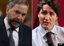 Atlantic Canada polls suggest a battle is brewing between NDP and Liberals in 2015. (CP)