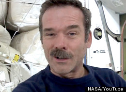 Chris Hadfield is now commander of the International Space Station. (NASA/YouTube)