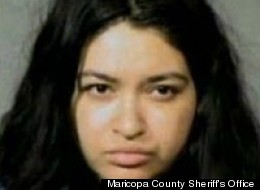 Victoria Soliz, 30, has been charged with felony child abuse.