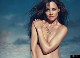 Katie Holmes Poses Topless for IRIS