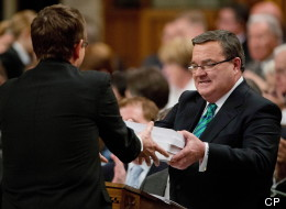 Finance Minister Jim Flaherty delivered the 2013 federal budget in the House of Commons Thursday (Adrian Wyld/CP)