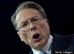 Wayne LaPierre, CEO of the National Rifle Association, received a sharp letter from Connecticut's two senators over the NRA's robocalls to Newtown. (Photo: Nicholas Kamm/AFP/Getty Images)