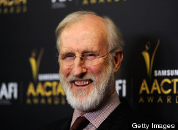 James Cromwell protested against animal testing at the University of Wisconsin on Feb. 7.