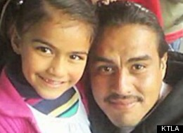 Celia Renteria hiked a mile to get help for her father, but he died after the car accident.
