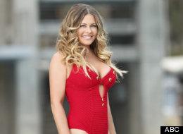 Nicole Eggert flaunts her bikini body in the reality TV show
