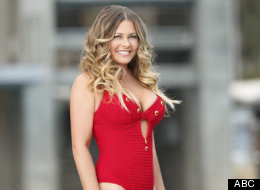 Nicole Eggert flaunts her bikini body in the reality TV show
