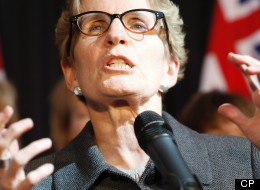 Ontario Premier Kathleen Wynne says it's time to talk about raising the $100,000 income threshold for Ontario's so-called sunshine list of public sector workers, which will be released today. (CP)
