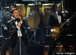Justin Timberlake spoke about his second album.