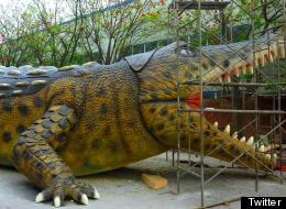Palmer's new Deinosuchus