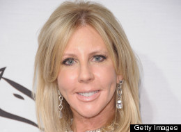 Vicki Gunvalson shows off her new face.
