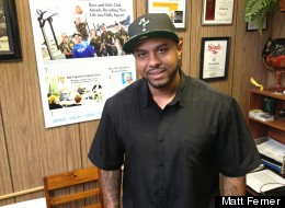Terrance Roberts, former Denver Blood, now head of anti-gang group Prodigal Son Initiative, Inc.