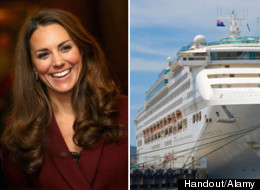 The Duchess of Cambridge, Kate Middleton, has been selected to name christen Princess Cruise's newest ship, the Royal Princess.