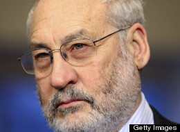 Joseph Stiglitz, Nobel-prize winning economist, listens during an event sponsored by the Roosevelt Institute in New York, U.S., on Wednesday, March 3, 2010. Jin Lee/Bloomberg via Getty Images