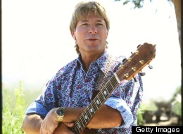 Posed portrait of John Denver at the National Forest in Southern California (Photo by Jim McCrary/Redferns)