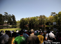 A general view during the Par 3 Contest prior to the start of the 2013 Masters Tournament at Augusta National Golf Club on April 10, 2013 in Augusta, Georgia.