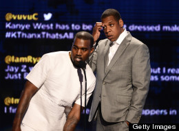 Jay-Z & Kanye West: together in movie trailers.