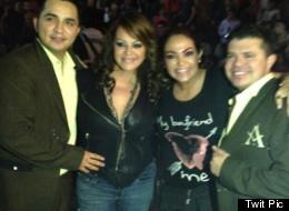 Eli Castro junto a Jenni Rivera