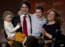 Justin Trudeau has won the leadership of the Liberal Party of Canada in commanding fashion. (CP)
