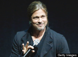 Brad Pitt appeared at the event.