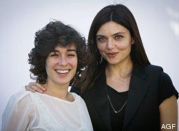 L'attrice Diane Flery e Elisa Fuksas, regista di