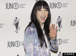 Carly Rae Jepsen at the 2013 Juno Gala.