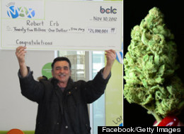 Bob Erb, a long-time marijuana activist from B.C., won a $25 million Lotto Max jackpot</a> late last year and has already given much of it away. (Facebook/Getty Images)