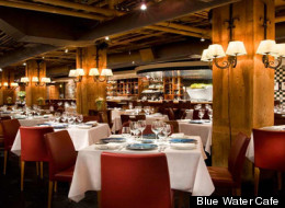 Yaletown's Blue Water Cafe has been named the best seafood restaurant in Vancouver Magazine's 2013 Restaurant Awards. (Blue Water Cafe)