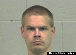 Rick O. Smith, 43, has been charged with shooting and killing five people, and wounding a sixth, in Manchester, Illinois.