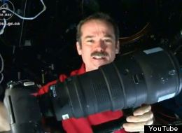 International Space Station commander Chris Hadfield gives a space photography lesson in his new YouTube video. (YouTube)