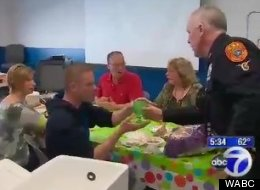 A Suffolk County office serves up drinks to volunteers so they can be studied.