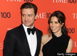 Justin Timberlake and Jessica Biel's marriage is amazing, according to JT. Here, they're pictured at the Time 100 Gala on April 23.