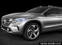 La empresa alemana piensa en mostrar las imágenes sobre carretera, fuera del auto.