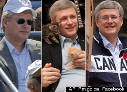 Stephen Harper's 54 years have resulted in just as many memorable photos, so as the prime minister celebrates his birthday on April 30, we're taking a look back at some of our favourites. (AP, PM.GC.CA, FACEBOOK)
