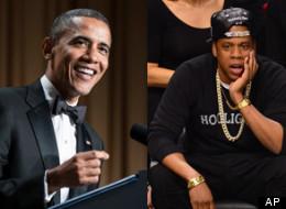Obama made a joke about Jay-Z.