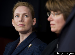 EMILY's List suggested Sens. Kirsten Gillibrand (D-N.Y.), left, and Amy Klobuchar (D-Minn.), as possible candidates for president on Thursday as part of its new