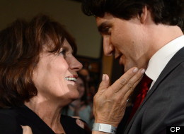 Justin Trudeau isn't swinging back in the face of Tory attacks. But nobody said anything about his mother. (CP)