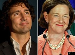 Federal Liberal Leader Justin Trudeau is praising Alberta Premier Alison Redford for her efforts to get the United States to approve the proposed Keystone XL pipeline. (CP)