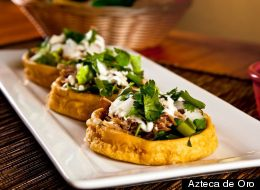 Azteca de Oro is among Chicago's most popular Mexican Restaurants, according to a recent GrubHub/Yelp ranking. (Azteca de Oro)